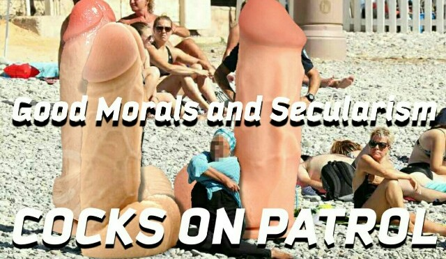 Paris is opening a space for nudists because being naked is OK in France but wearing a burkini will get you arrested.