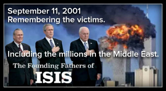 """""""No, I don't care what the international lawyers say, we are going to kick some ass."""" GW Bush, 9/11/2001"""
