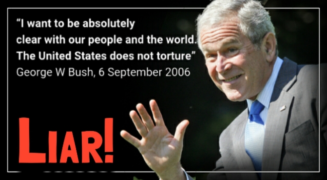 CIA torture report. A portrait of Extreme Hypocrisy.