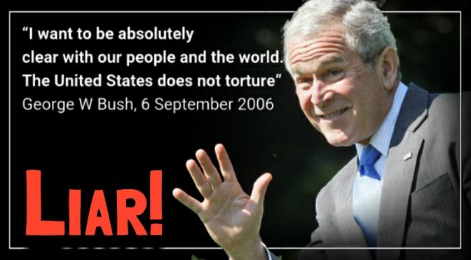 CIA torture report. A portrait of Extreme Hypocrisy.