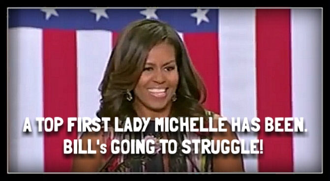 """Being president isn't anything like reality TV."" Michelle Obama"