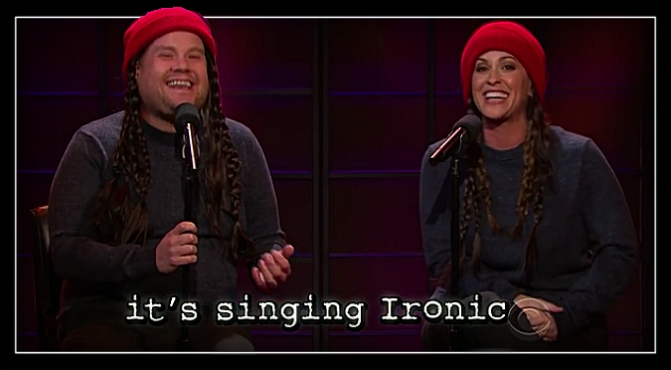 Alanis Morissette Updated 'Ironic' For Today's Problems And it's Hilarious.
