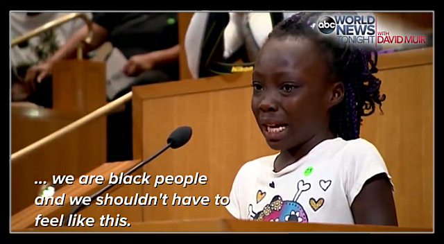 Zianna Oliphant's emotional testimony to Charlotte City Council.