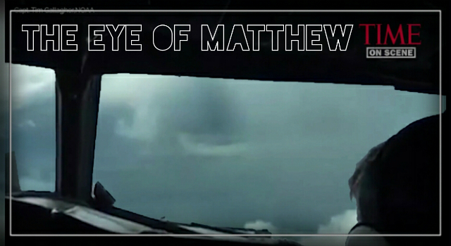 Inside Hurricane Matthew.