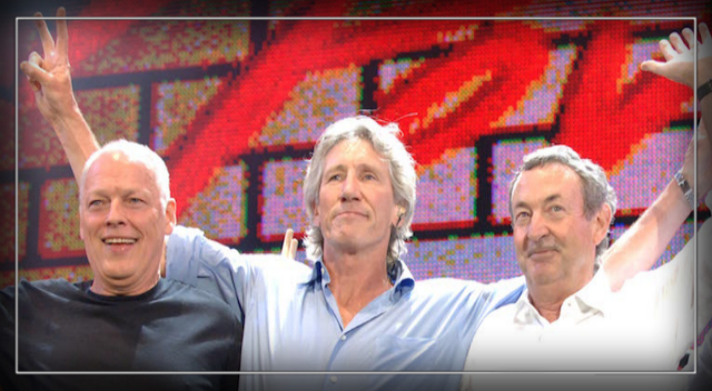 "Pink Floyd ""Reunite"" in Support of Gaza Activists"