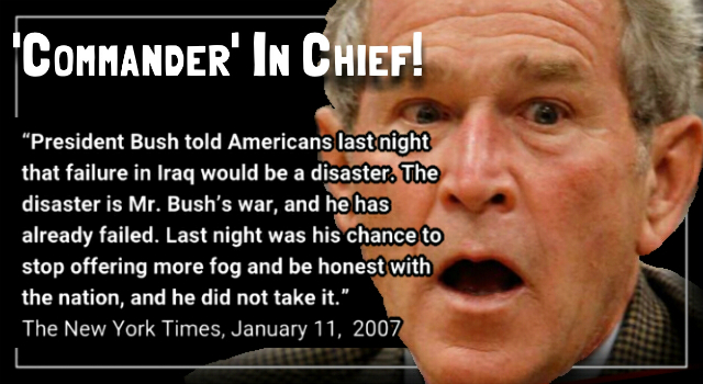 Trump Won't Mention That Bush & Cheney Deleted 22 Million Emails.