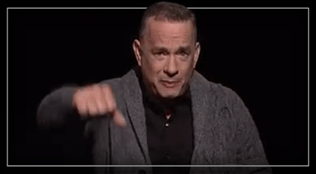 Tom Hanks Gives Nervous America The Pre-Election Pep Talk It Needs. – YouTube.
