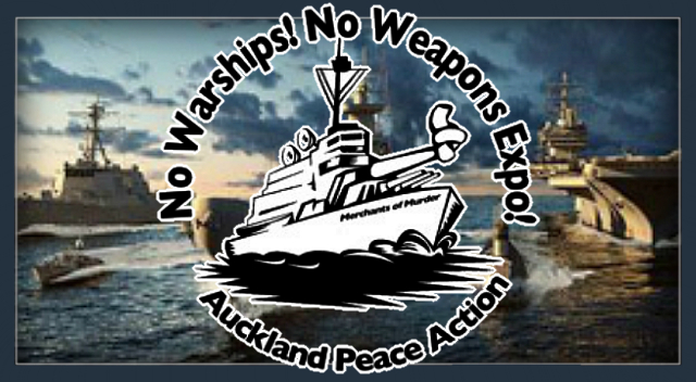 New Zealand, No Weapons Expo, No Warships.