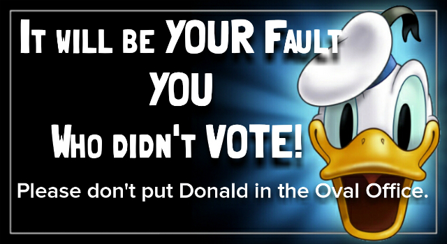 Vote For Your Children and grandchildren!