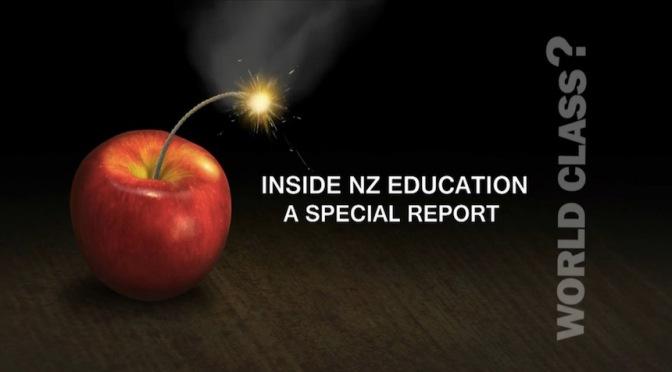 Fiddling While Schools Burn – Bryan Bruce.