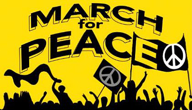A Massive March for Peace. People for Peace. Come and demonstrate that Kiwis Do Care.