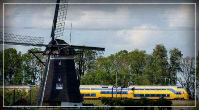 TODAY ALL DUTCH TRAINS ARE POWERED 100% BY WIND ENERGY – Michiel de Gooijer.