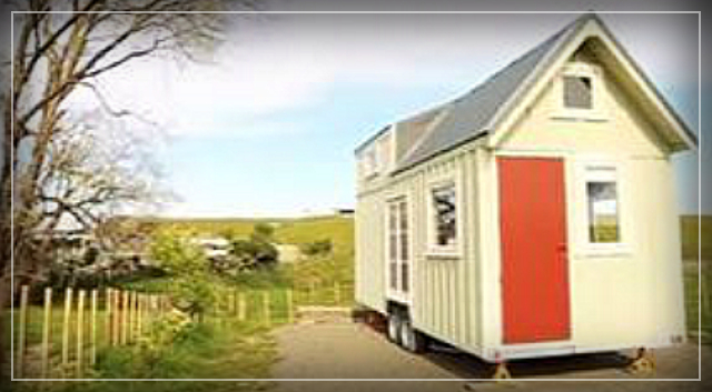 Tiny house ideal for retired couple.