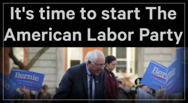 Petition – Bernie Sanders: It's time to start The American Labor Party – Change.org