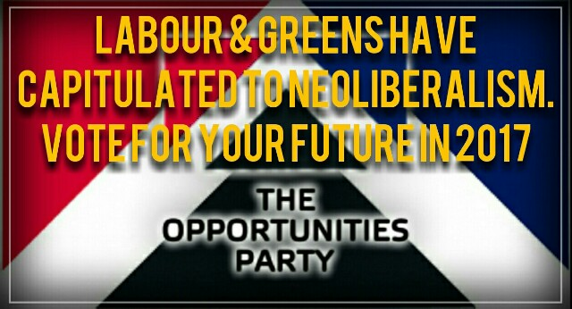 New Zealand – Labour and the Greens commit political HariKari, nail their flags to the Neoliberal flagpole.