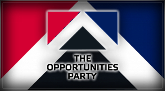 The Opportunities Party – UBI and Thriving Families.