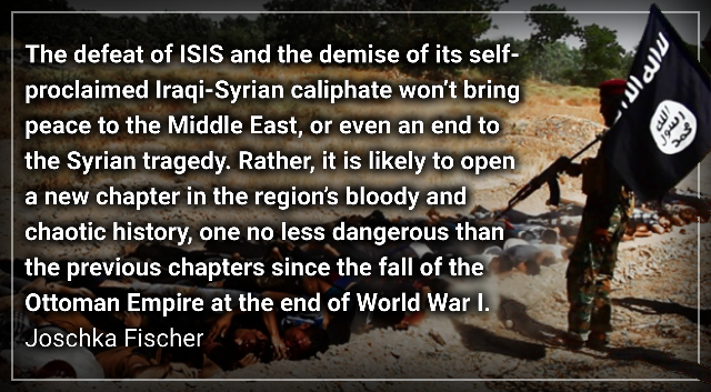 The Middle East's Next War – Joschka Fischer.