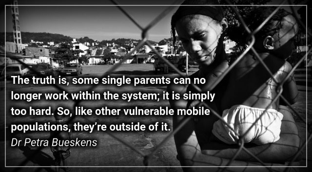 Poverty-traps and pay-gaps: Why single mothers need basic income –Dr Petra Bueskens.