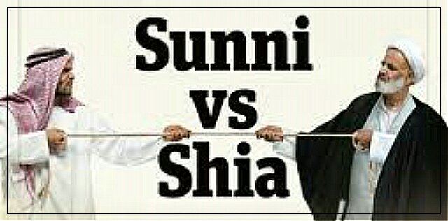 The Sunni-Shia divide.Islam's 'Toxic' Schism –John McHugh.