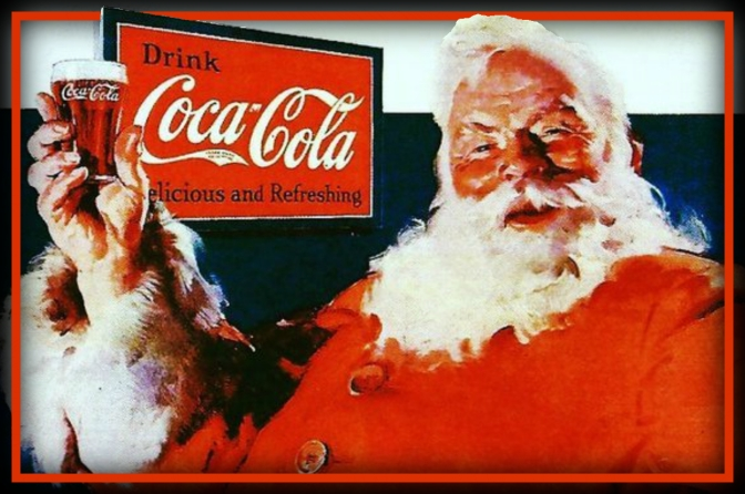 Coca-Cola won the day. Why Santa is red – Stephen Moss.