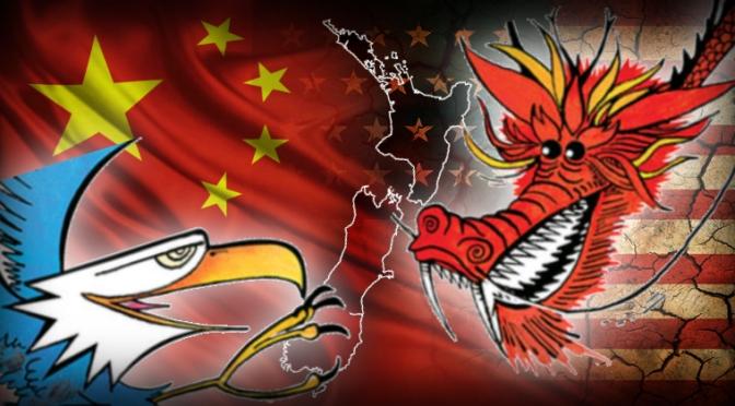 A Superpower Trade War Looms – Liam Dann.