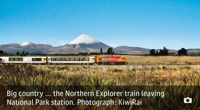 Passing panorama: New Zealand's glory from a train window – Susan Grossman.
