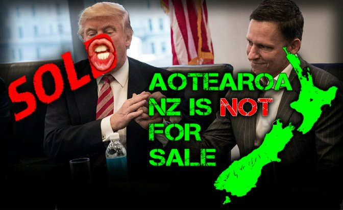 New Zealand Neoliberal Corruption. Citizen Thiel – Matt Nippert.