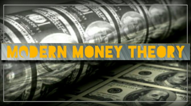Modern Monetary Theory.  The Government Has Unlimited Money – Tom Streithorst.