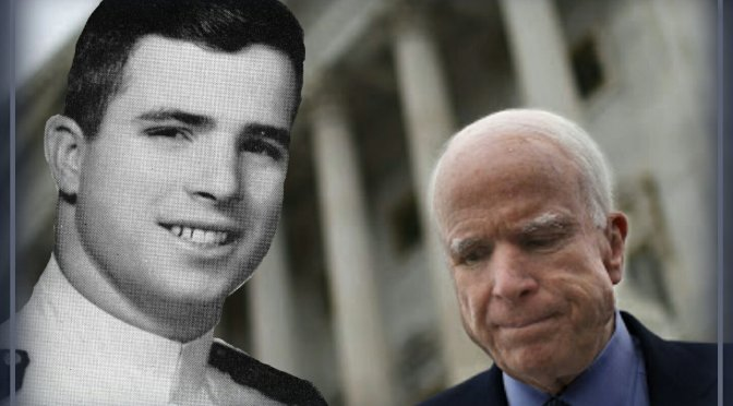 THE RESTLESS WAVE. Good Times, Just Causes, Great Fights and Other Appreciations – John McCain.