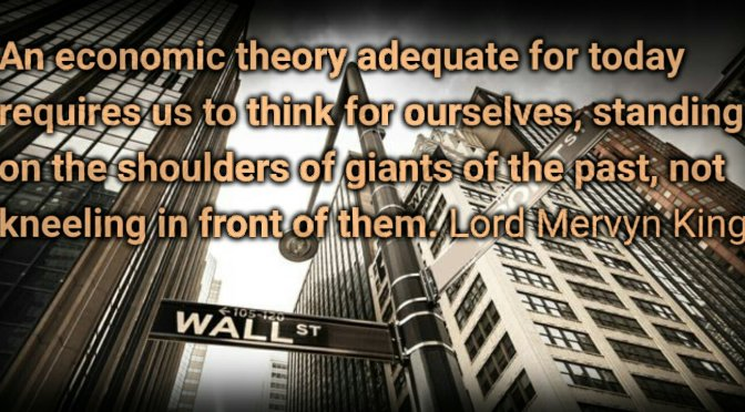 The End of Alchemy: Money, Banking and the Future of the Global Economy – Mervyn King.