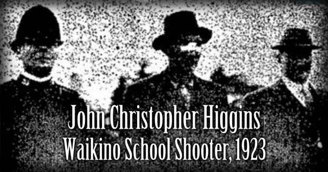 The Waikino Tragedy, 1923. Murder in a small New Zealand school – Charles Anderson.