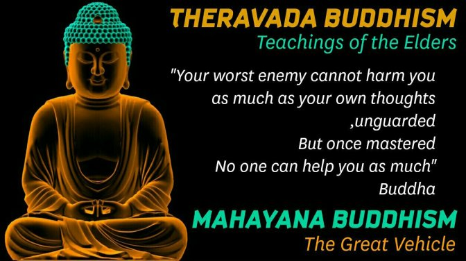 The Buddhist Schools: Theravada and Mahayana * Mahayana Buddhism – Gaurav Manandhar * Facts and Details.
